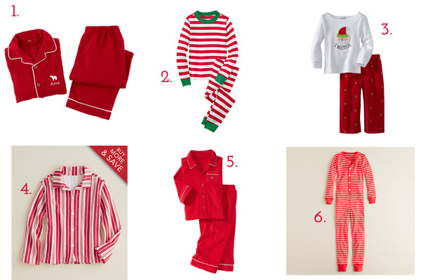 Red Christmas Pajamas