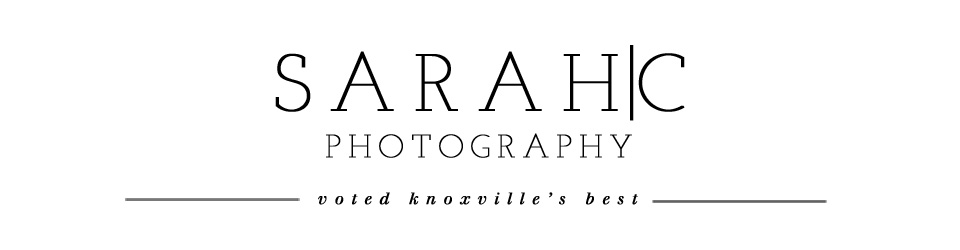 Sarah C. Photography | Voted Knoxville's Best Photographer | Family, Senior and Wedding Photography logo