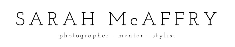 Sarah McAffry | Voted Knoxville's Best Photographer | Family, Senior and Wedding Photography logo